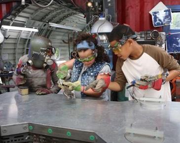 Ana e os Robôs