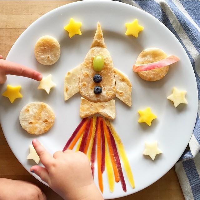 Omelete pronto para uma missão espacial!