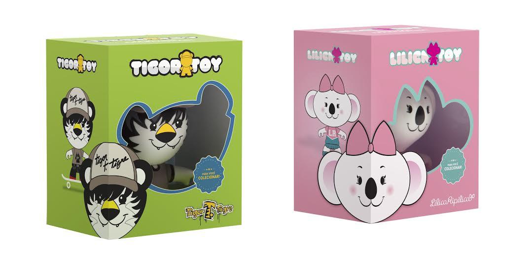 Veja mais sobre os toys colecionáveis L&T