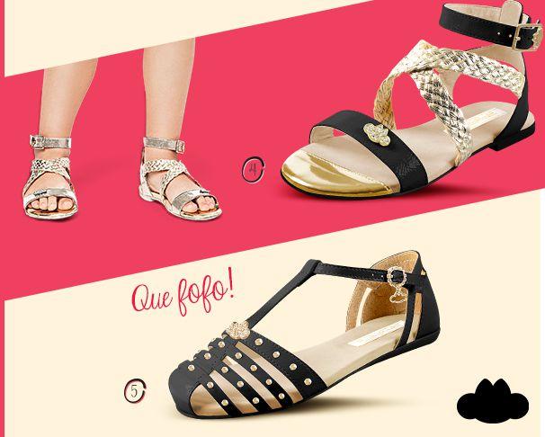 Os sapatos que são a cara do verão