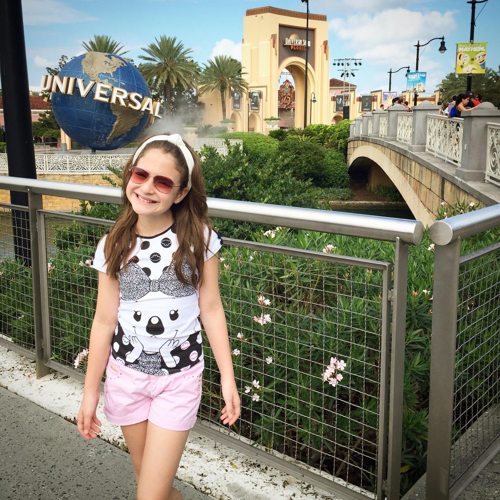 Arrasando na Universal Studios.