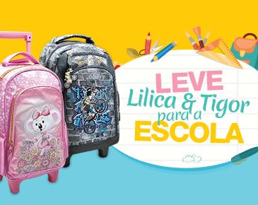 Volte às aulas com Lilica&Tigor
