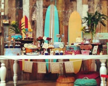 Comemore com o tema praia