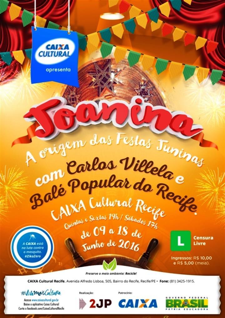 Cartaz A3 - Joanina