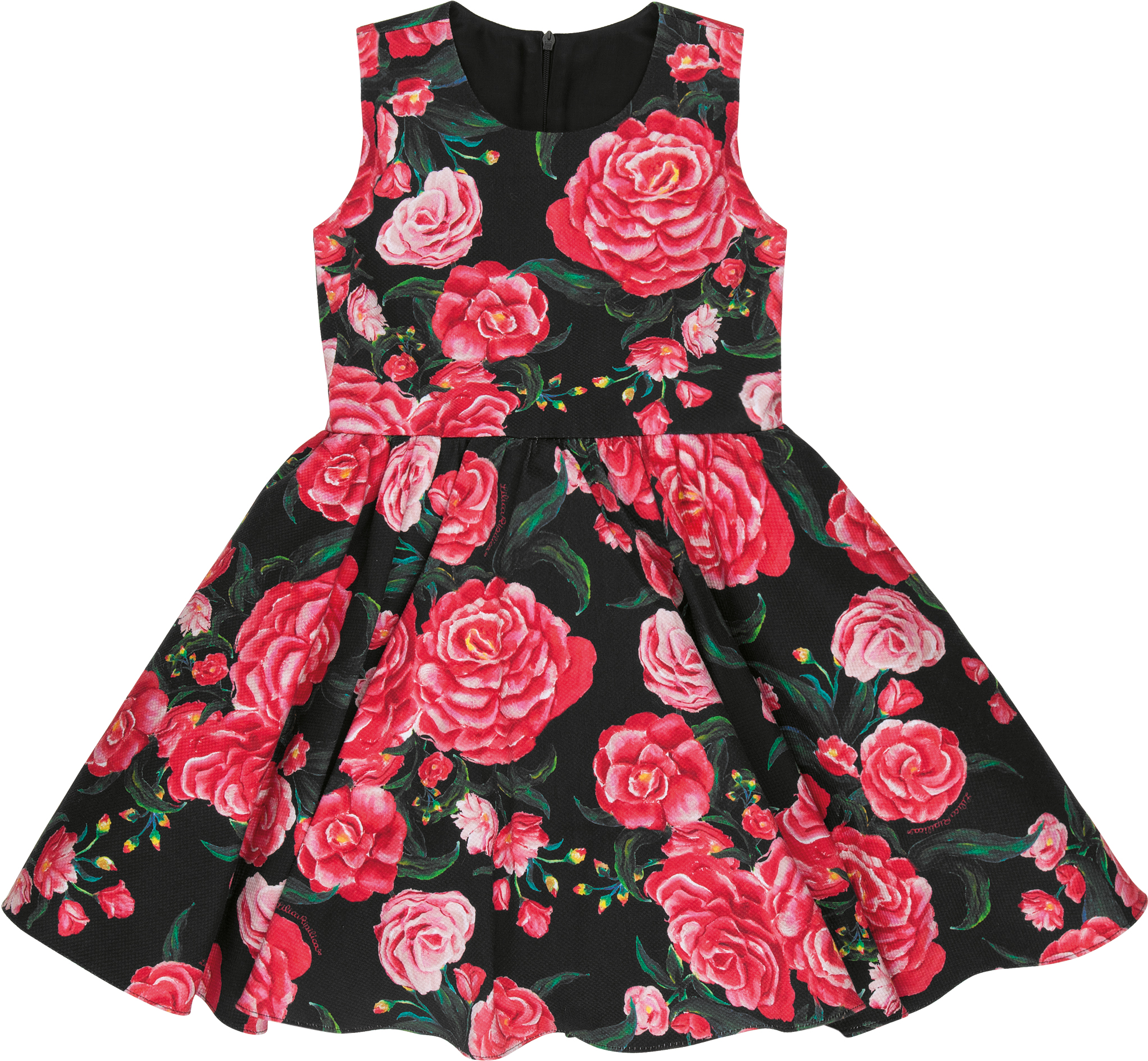 Vestido infantil preto lilica ripilica
