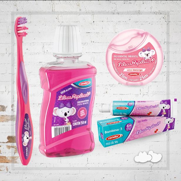 Escovar os dentes com a Lilica Ripilica é mais divertido