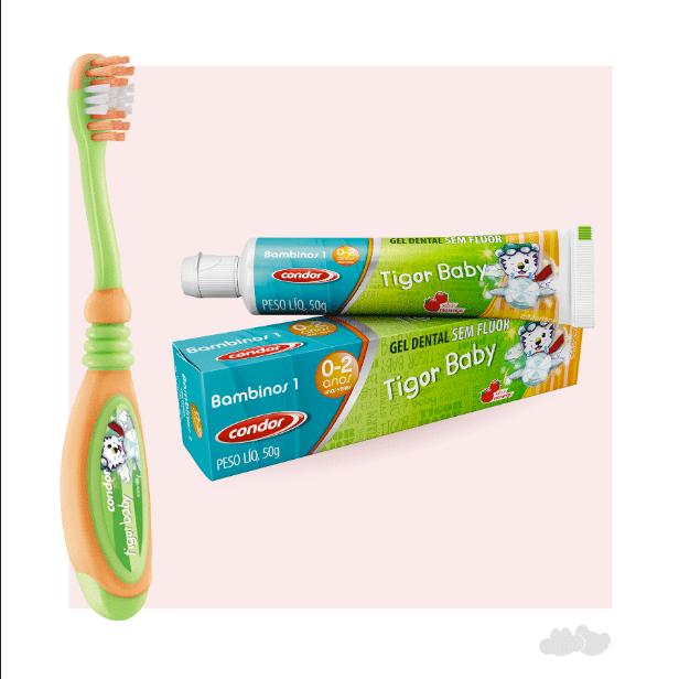 Bebês também precisam cuidar da higiene bucal